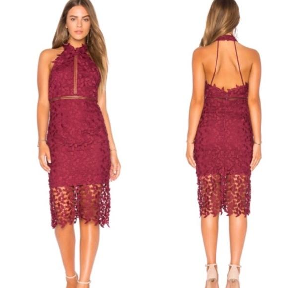 0abc4693979 Bardot Dresses   Skirts - Like new Bardot Gemma Dress in Burgundy Red
